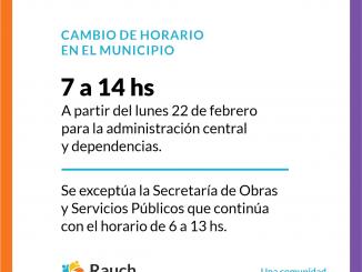 cambio de horario febrero 2021