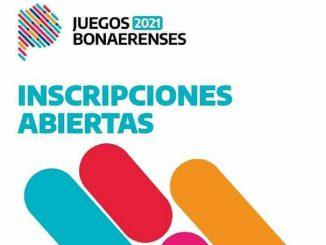 JUEGOS BONAERENSES 2021 INSCRIPCION